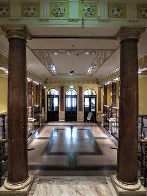 Im Inneren des Kärntner Landesmuseum