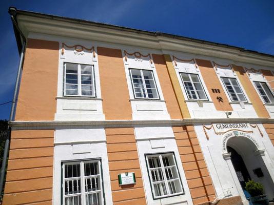Das um 1800 errichtete Wohnhaus der Gewerken Wodley und Baron Lang