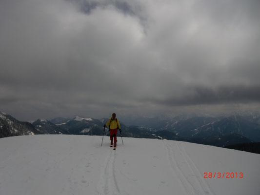 Die letzen Meter zum Gipfel