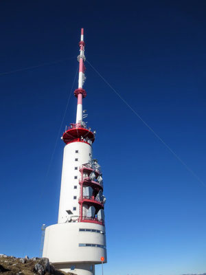 Der ORF-Sendeturm am Dobratsch