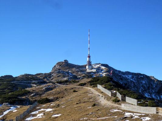 Wunderbarer Blick auf den Dobratsch-Gipfel