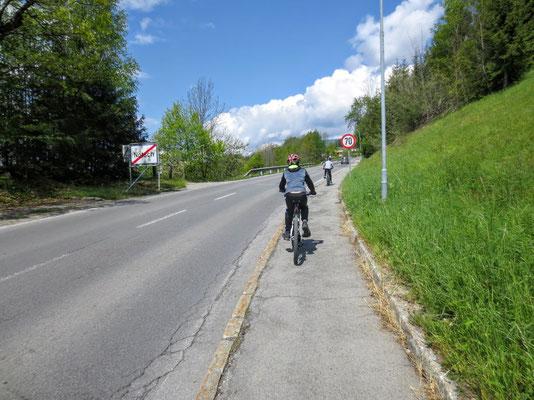 """Das Kriterium der heutigen Tour der """"Nötscher Bichl"""" (Nötscher Hügel)"""