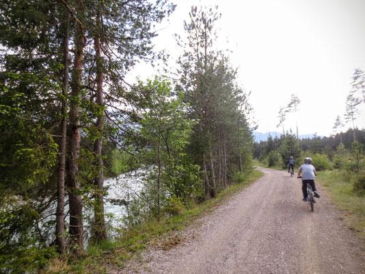 Gailtalradweg bei Fürnitz
