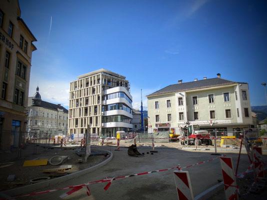 Neubau des Hans-Gasserplatzes 2016