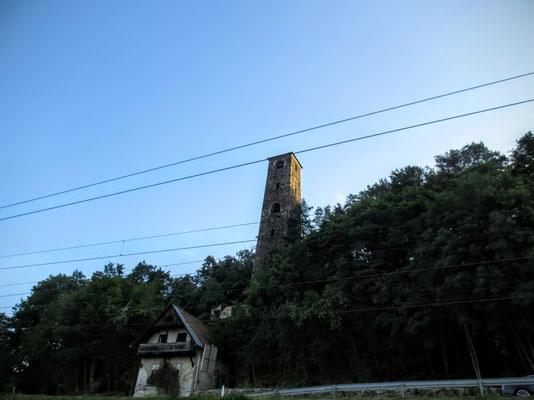 Der von 1818 - 1824 erbaute Schrotturm am Wörthersee