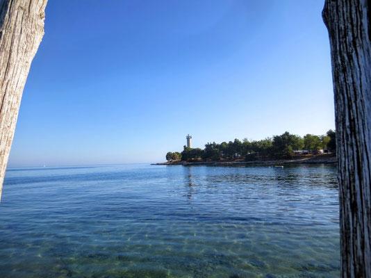 Der westlichste Punkt Kroatiens - der Leuchtturm von Savudrija