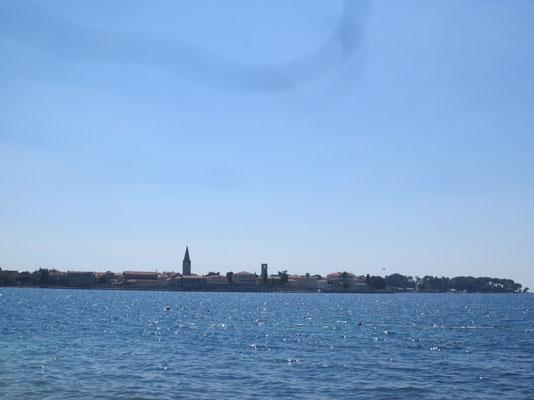 Blick auf die Altstadt von Porec