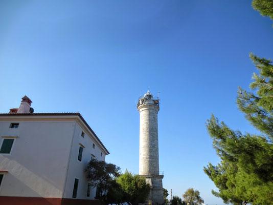 Der 1818 eröffnete Leuchtturm von Savudrija...