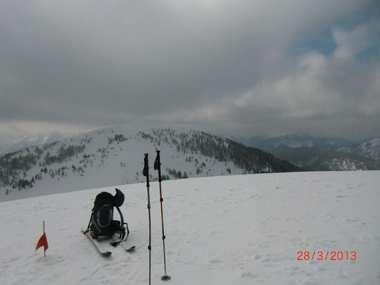 Blick vom Schönwipfel zum Monte Cocco