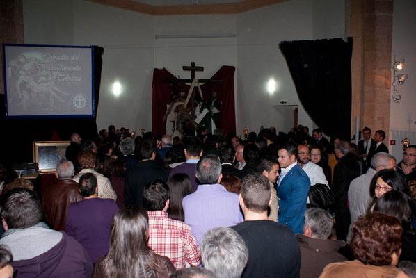 Se puede visitar el Grupo Escultórico en el Convento de San José