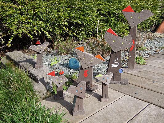 Statues de chats, résiste au gel, soleil ...
