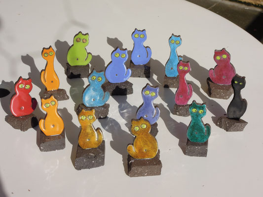Statuettes chats