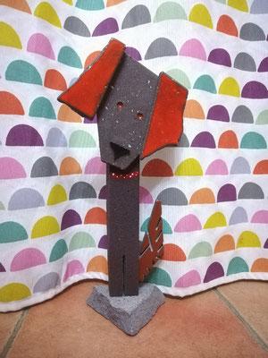 Statue cocker