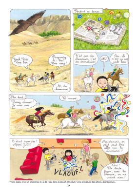 Un dinosaure en cavale - Une aventure de Julie et Beau Prince - Tome 3 - COBEditions