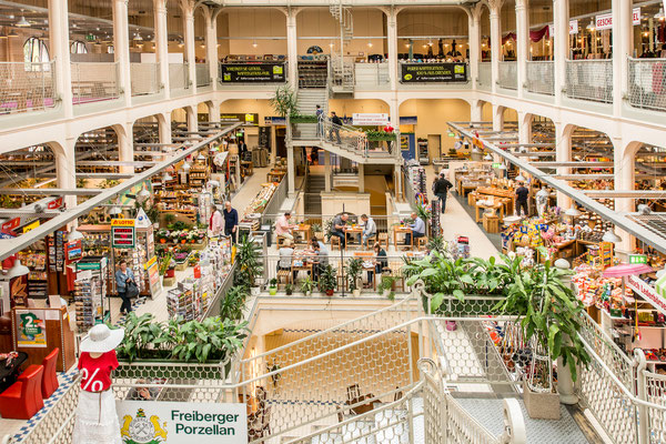 Konsumtempel in Dresden- Neustadt