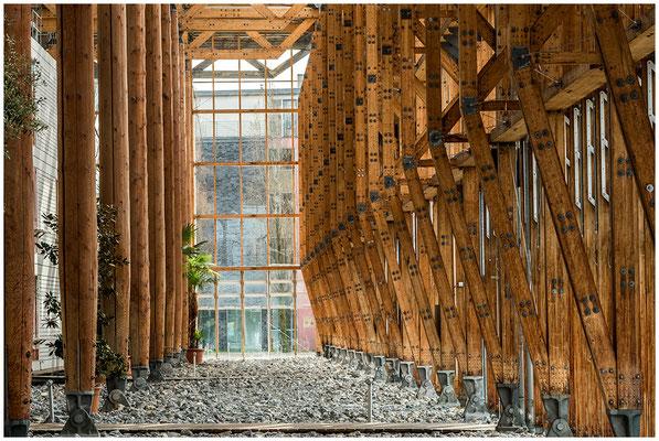 Holz in der Hütte   (Akademie in Herne)