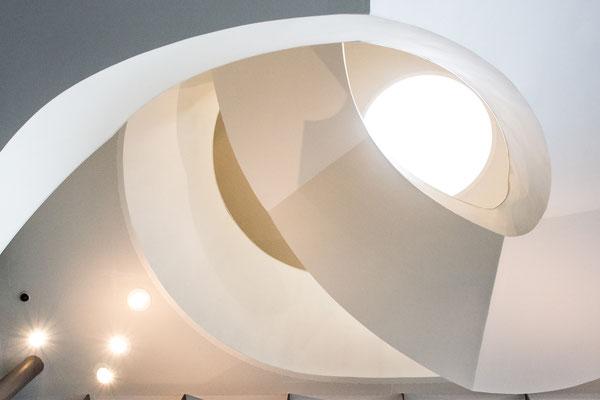 Treppenhaus im Stedelijk Museum`s- Herzogenbosch