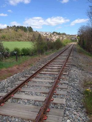 Direction Mende Gare/La Bastide