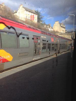 TER en Gare de Mende