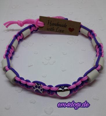 em4dogs.de EM-Keramik Hundehalsband  lila pink