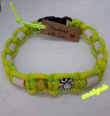 em4dogs.de EM-Keramik Hundehalsband gelb neongrün