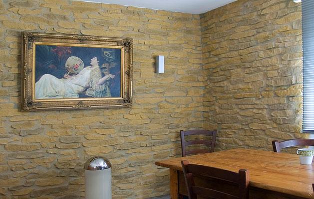 Stein- Wandverkleidung Muro Siciliano Rusty 258