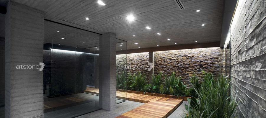 Architektonische Ästhetik im Betonmantel