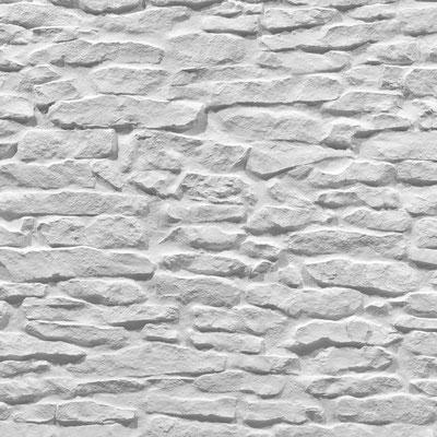 GFK 3D Steindekorpaneele Lajas blanca