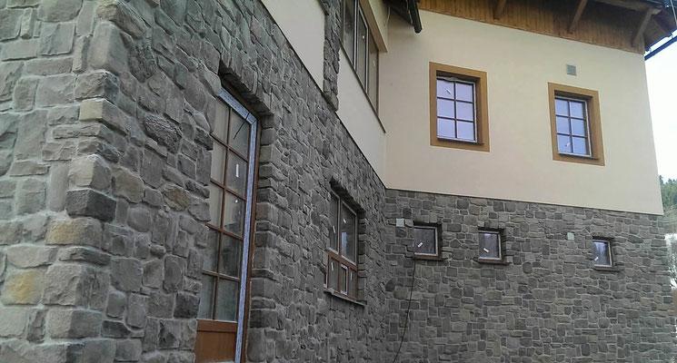 Alpine Fassadenverkleidung | Graystone mix Alpina