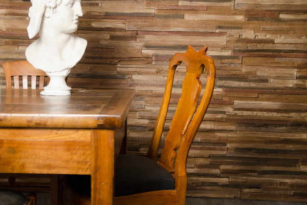 Kunststoff Holzpaneele Wandverkleidung