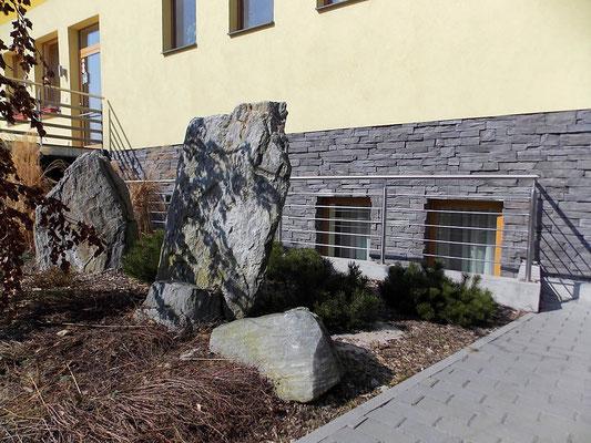 Fassadenverkleidung Piedra rustico gray 012