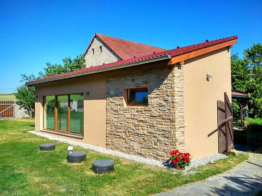 Fassadenverkleidung Steinoptik Thassos terra | 094