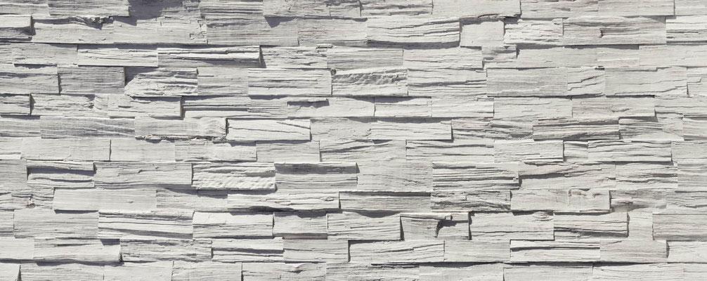 Kunststoff Holzpaneele Duelas blanco -  420