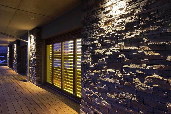 Piedra rustico gray 012 - Verblender als Fassadenverkleidung