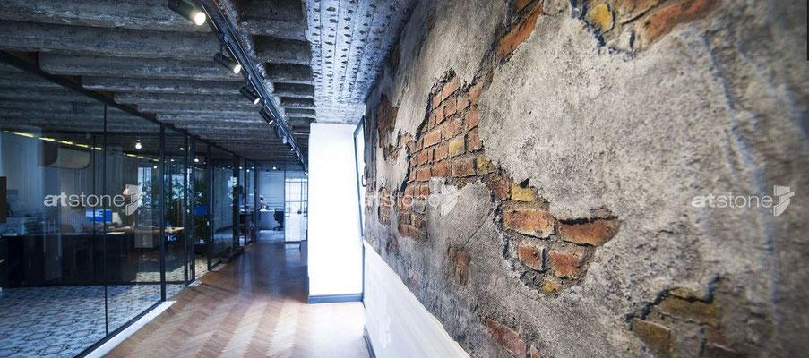 Altes Mauerwerk - Hormigon Vintage natural