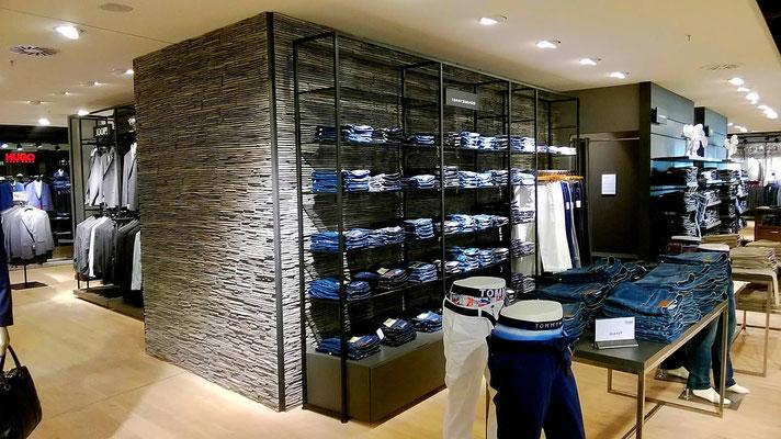 Ladenbau Wandgestaltung | Acentos anthracite | 408