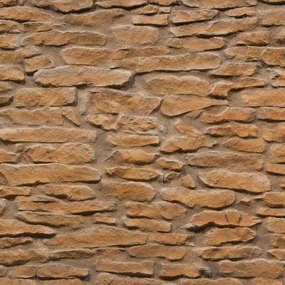 GFK 3D Steindekorpaneele Lajas ocre