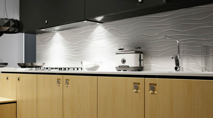 Akzentpaneele - Küchenrückwand