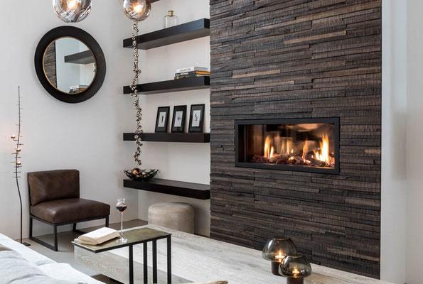 Mooreichenholz als fantastische Altholz Wandverkleidungen