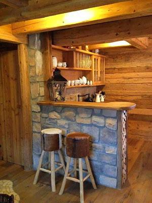 Barverkleidung in Steinoptik | Graystone mix Alpina
