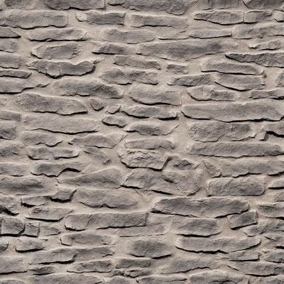 GFK 3D Steindekorpaneele Lajas gris