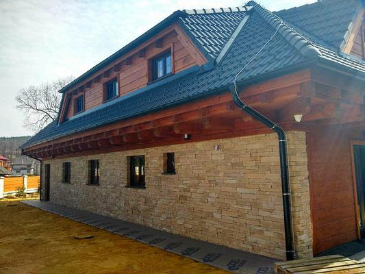 Fassadenverblender Piedra rustico terra mix 117