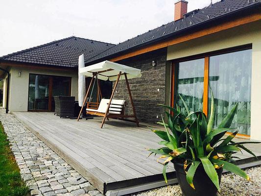 Moderne Steinfassade | Acentos anthracite | 408