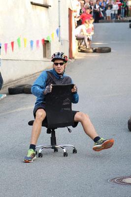 Bürostuhlrennen