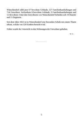 Wünschendorf Erzgebirge Geschichte