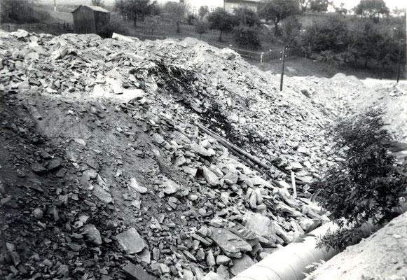 Mülldeponie Wünschendorf Erzgebirge 1969