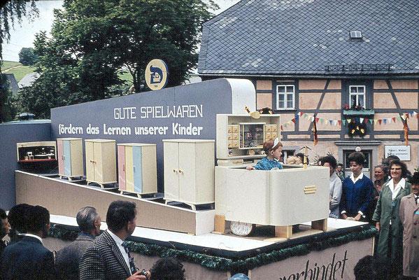 Foto: Wünschendorf Erzgebirge Schul und Heimatfest 1965 J.Pflugbeil