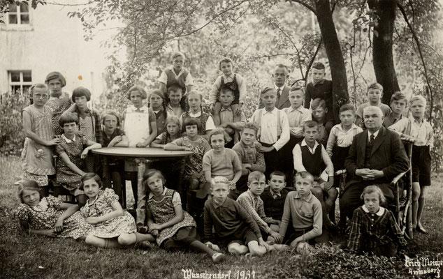 Wünschendorf Erzgebirger Schule 1937