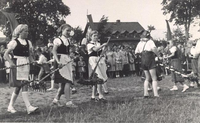 Wünschendorf Erzgebirge Schulfest 1952