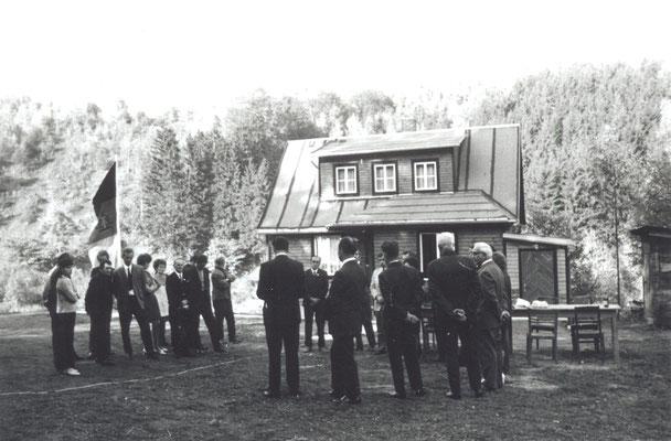 Wünschendorf Erzgebirge Teichler Jagdhütte